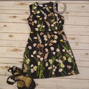 Victoria Beckham Black Sleeveless Dress Small